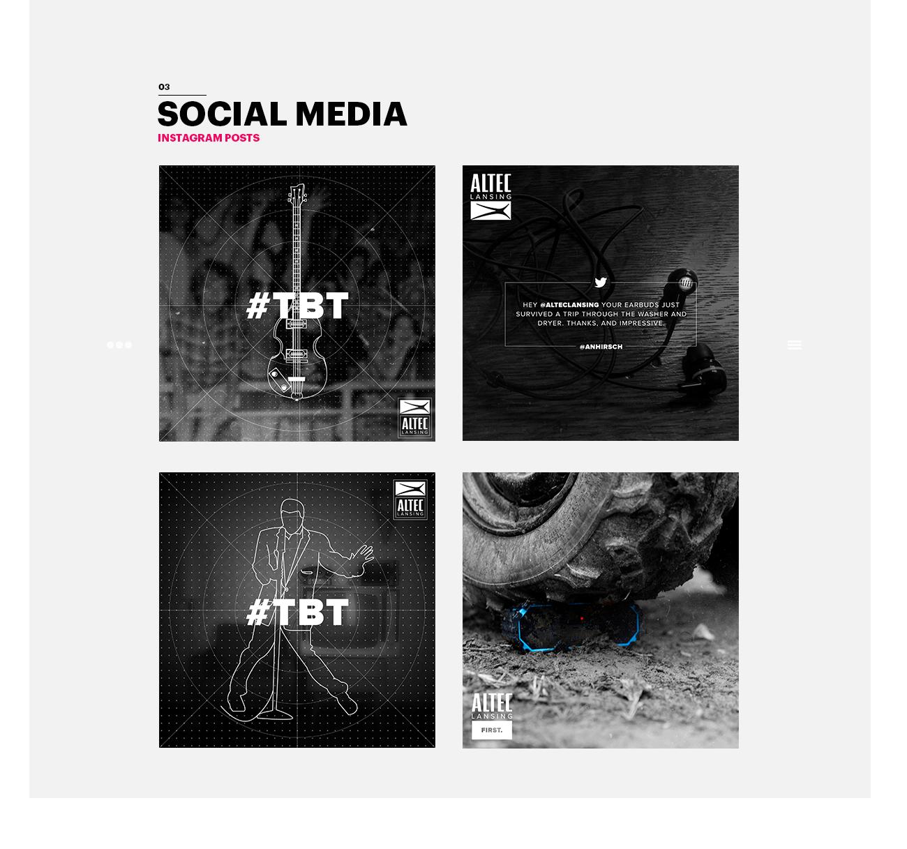 Altec Social Media Design