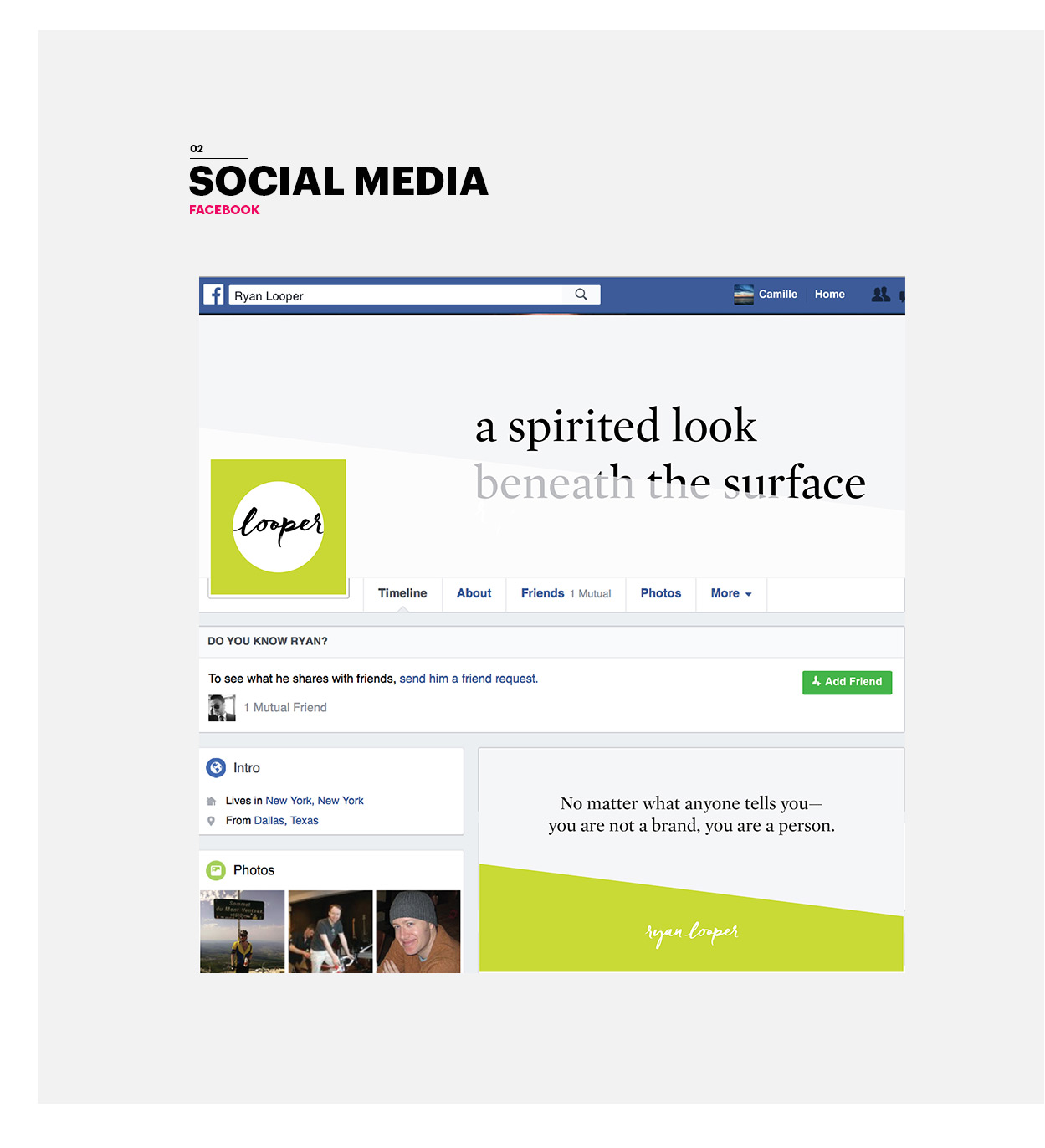 Ryan Looper Social Media